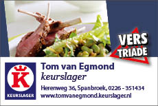 Tom van Egmond Keurslager